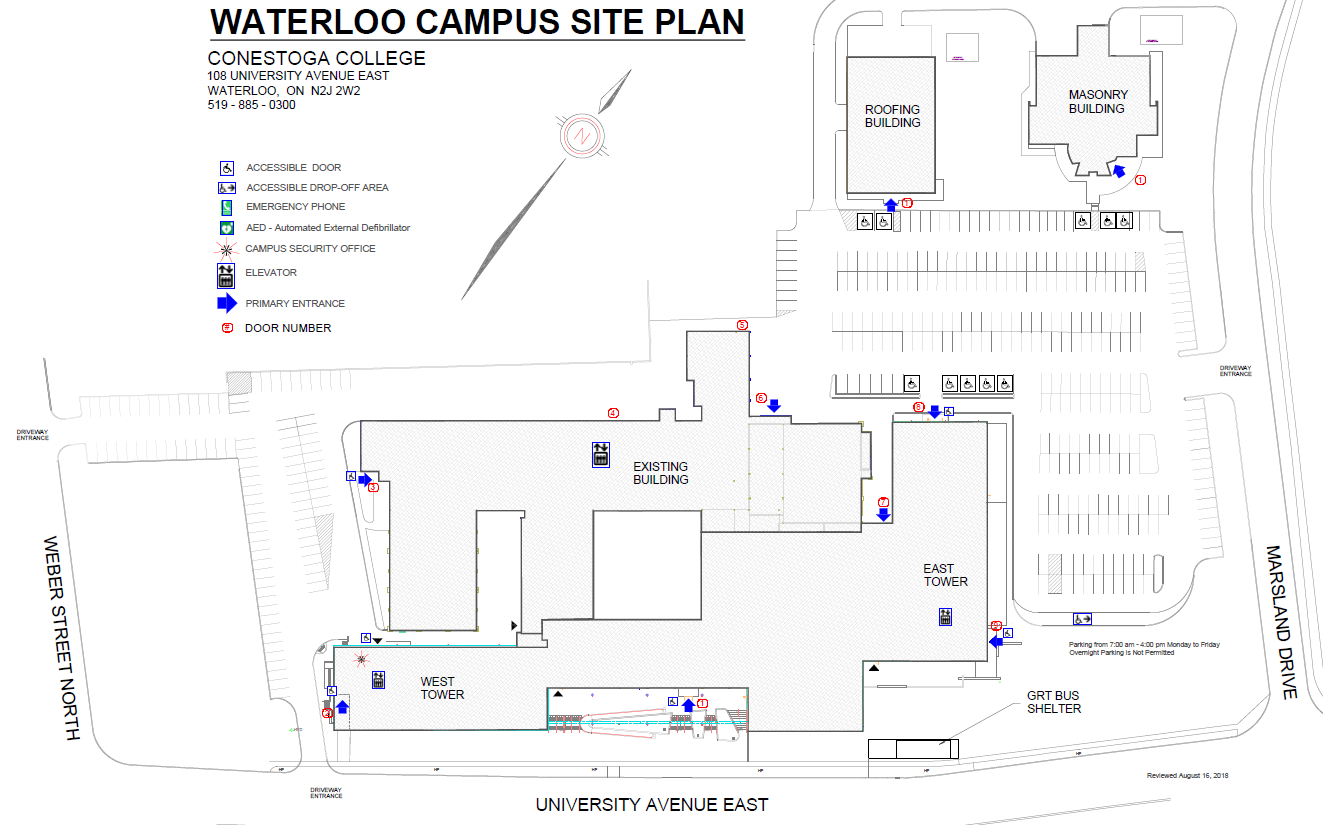 university of waterloo map pdf