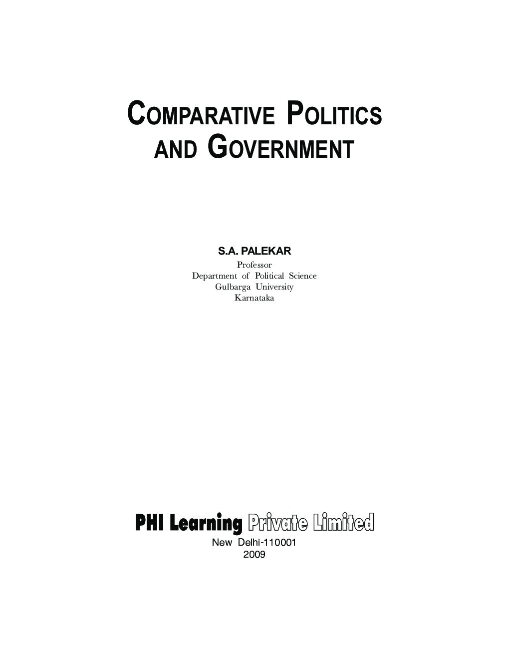 approaches to comparative politics pdf