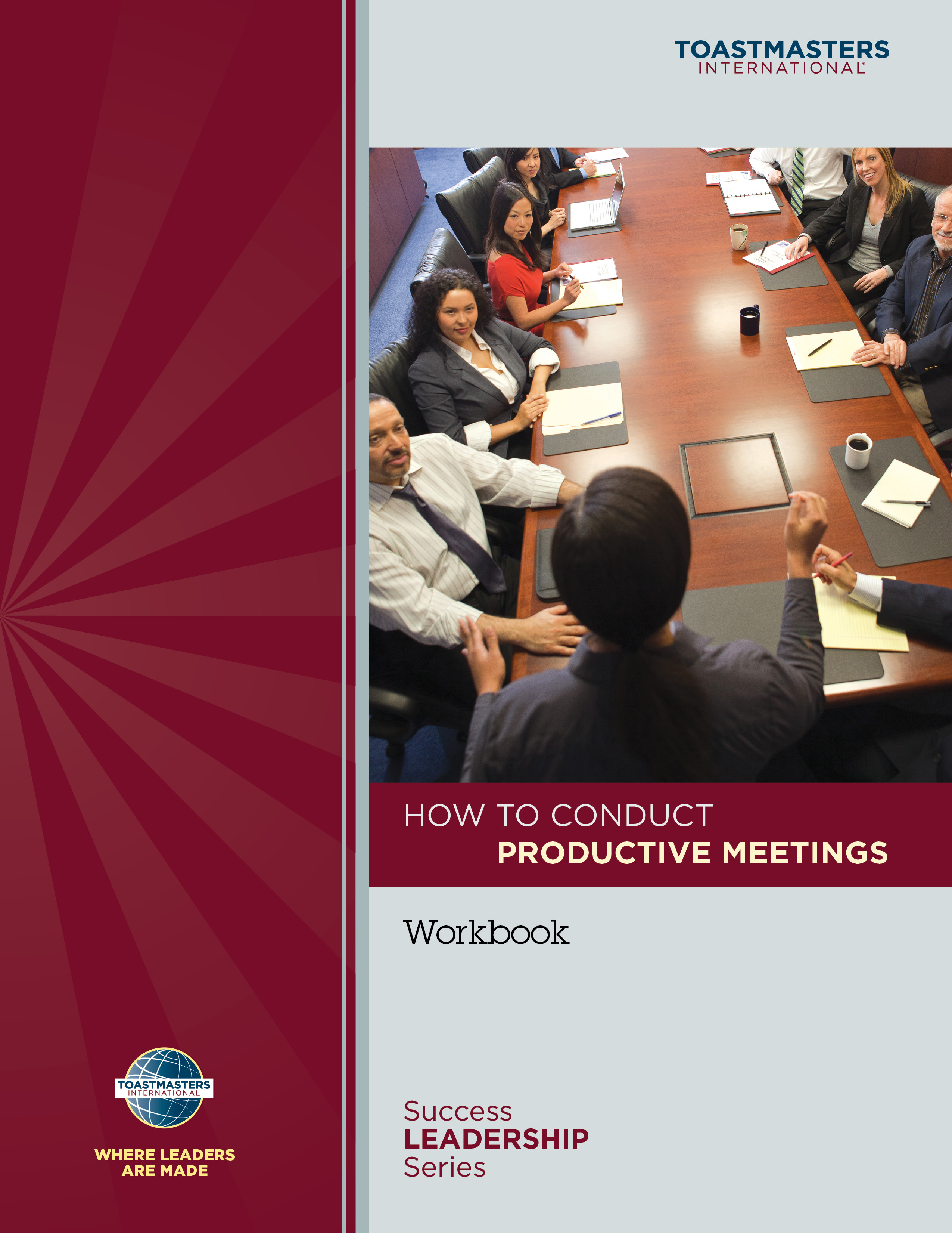 how to conduct productive meetings toastmasters pdf