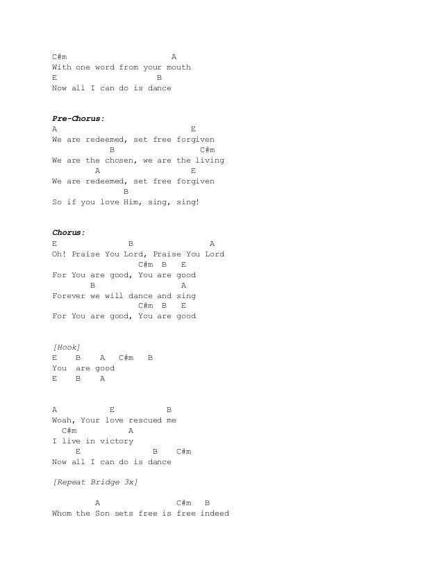 praise you lord planetshakers chords pdf
