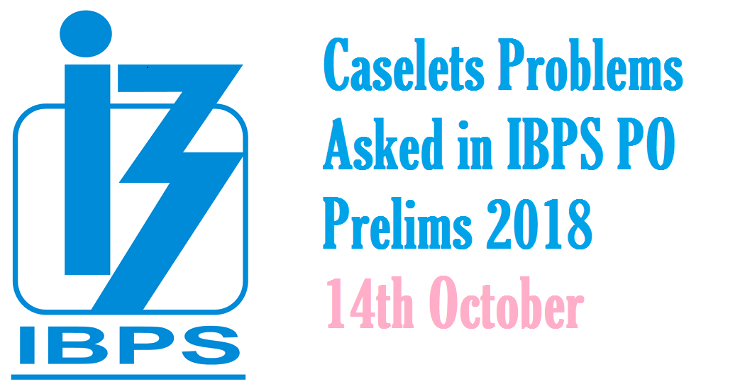 caselets questions for bank po pdf