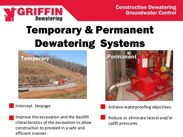 dewatering systems in construction pdf