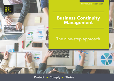 business continuity management system pdf