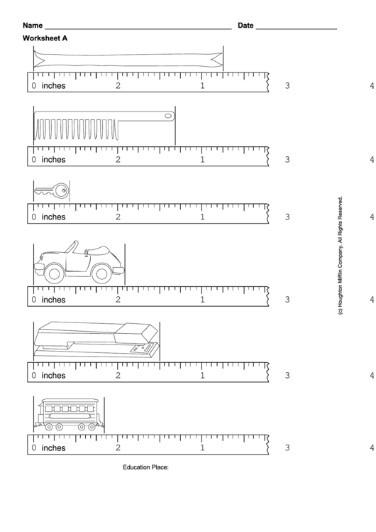 reading a metric ruler worksheet pdf