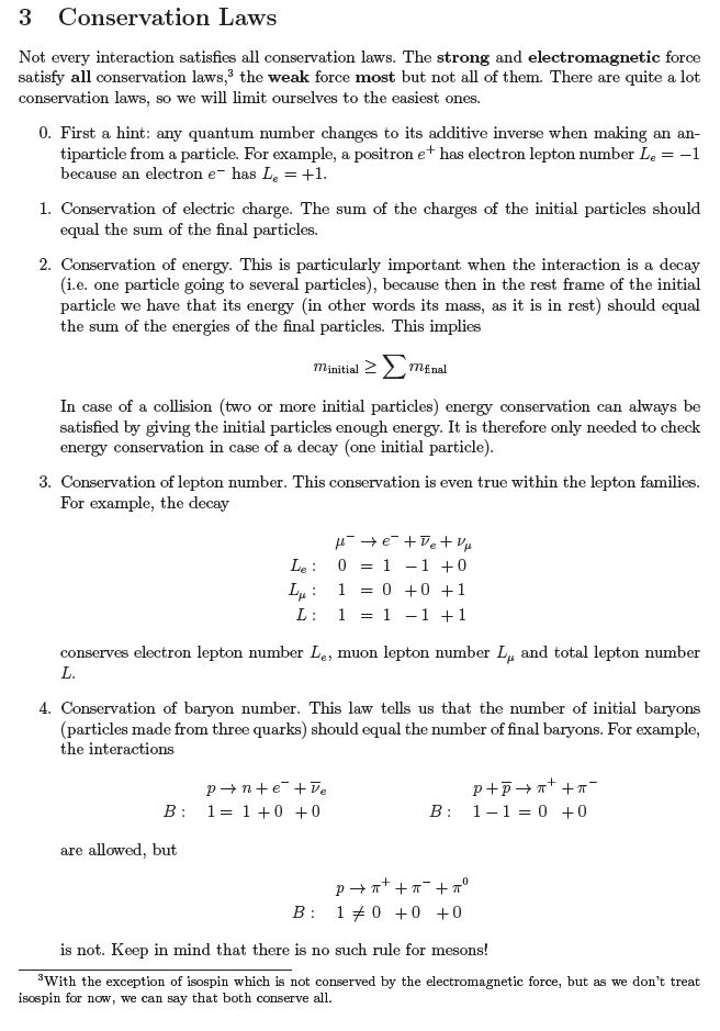 symmetries and conservation laws in particle physics pdf