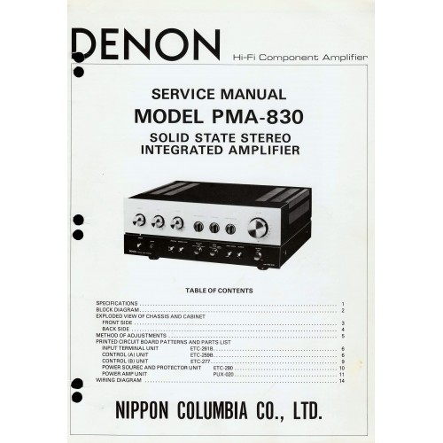 denon avr-1600 manual pdf