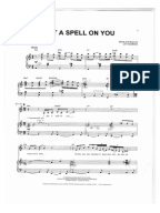i put a spell on you piano pdf