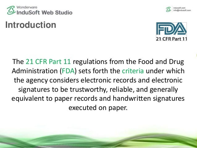21 cfr part 11 guidelines for pharmaceuticals pdf