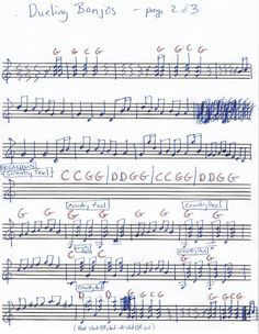 dueling banjos piano sheet music pdf
