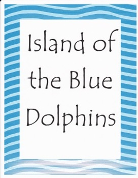 island of the blue dolphins lesson plans pdf