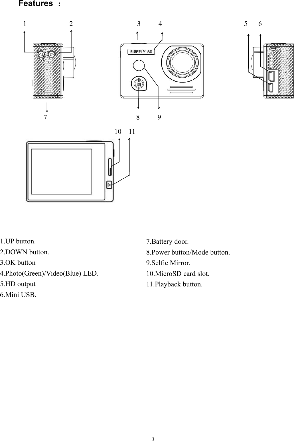 mini s918 hd button dv manual pdf