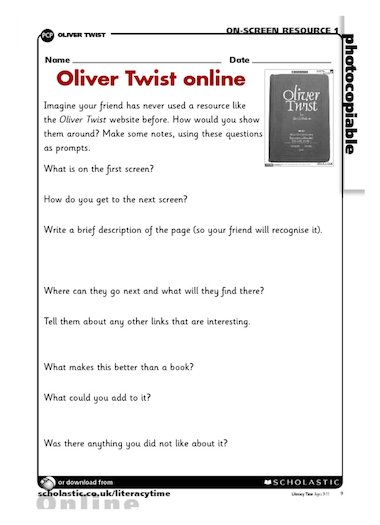 oliver twist pdf download free
