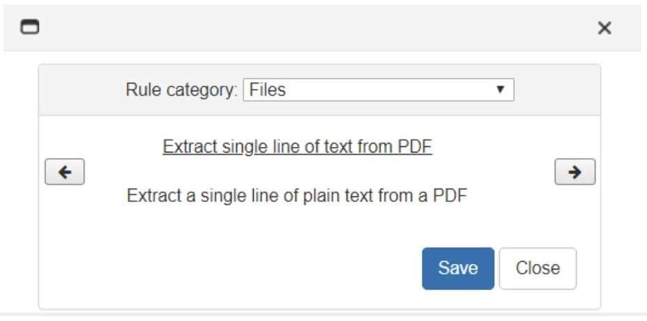 scanning as a text pdf