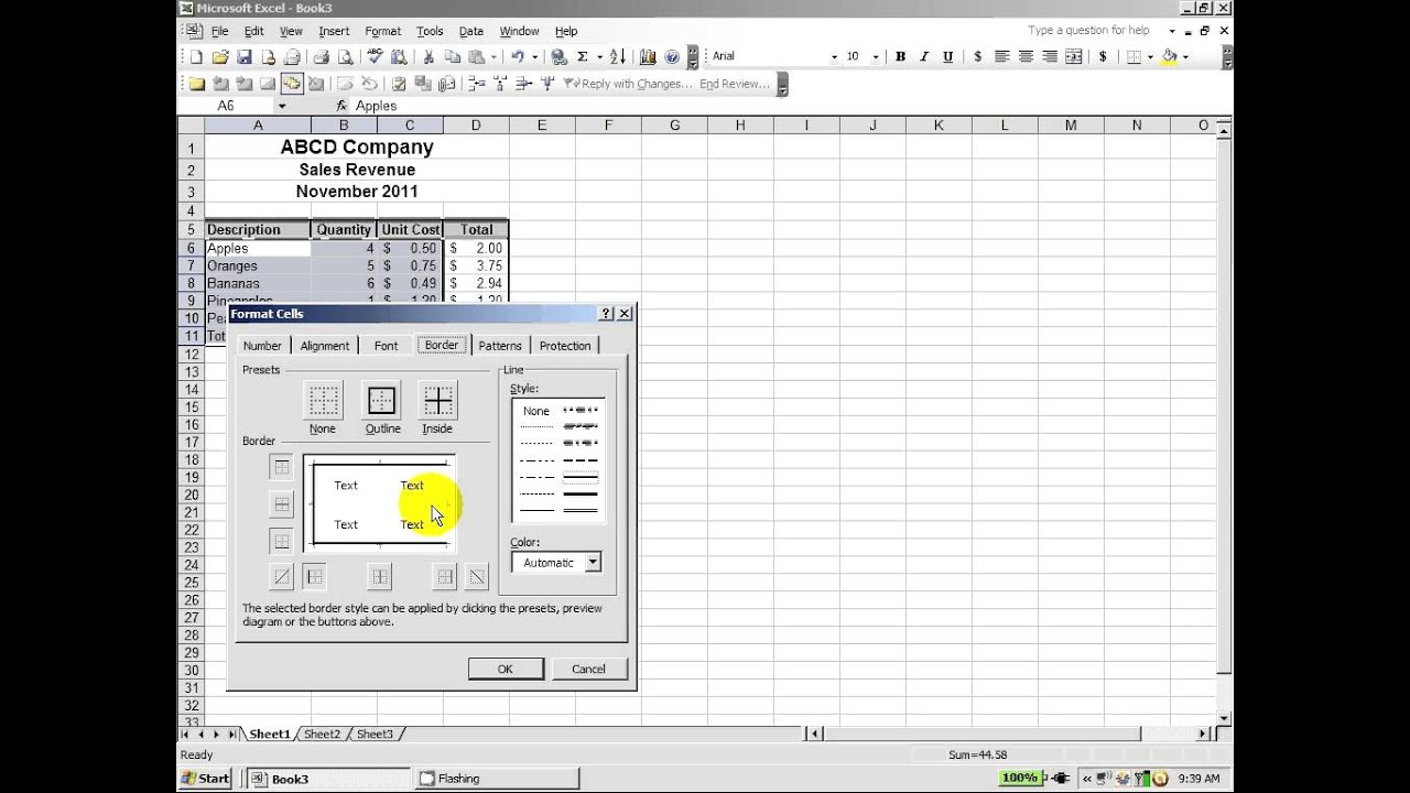create an excel spreadsheet from a pdf