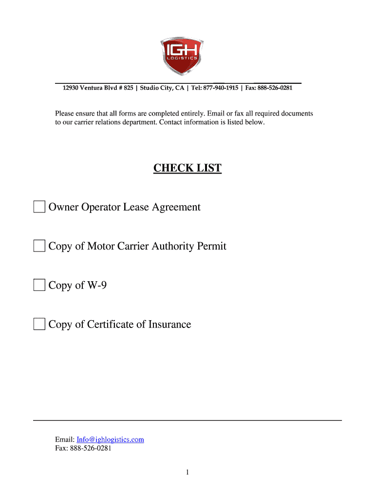 owner operator contract agreement pdf