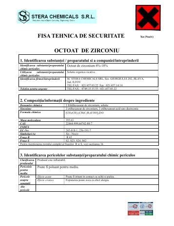 msds for all chemicals pdf
