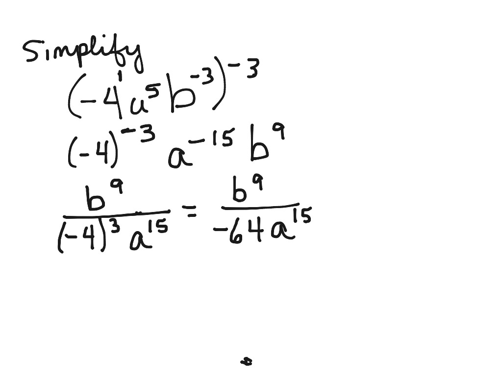 simplifying expressions with exponents worksheet pdf