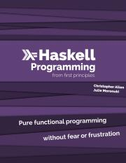 haskell programming from first principles pdf