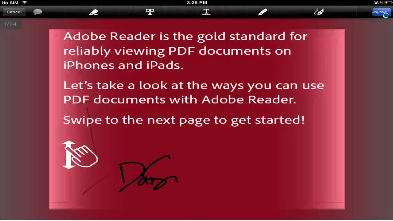 how to add signature to document with pdf