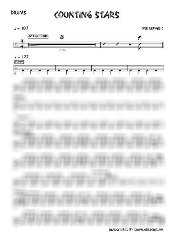 one republic sheet music pdf