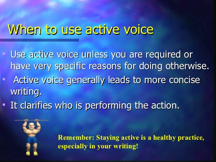 active voice vs passive voice pdf