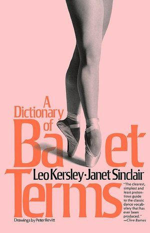 ballet dictionary with pictures pdf
