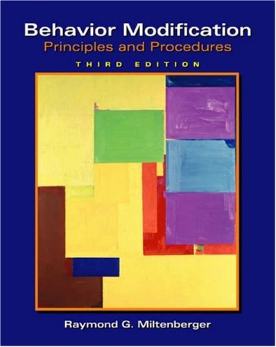 behavior modification principles and procedures 5th edition pdf