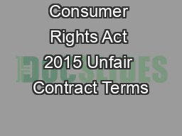 unfair contract terms act 1977 pdf