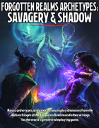 forgotten realms archetypes savagery & shadow pdf