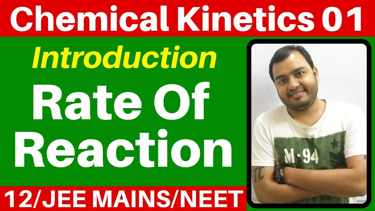 chemical kinetics notes for bsc pdf