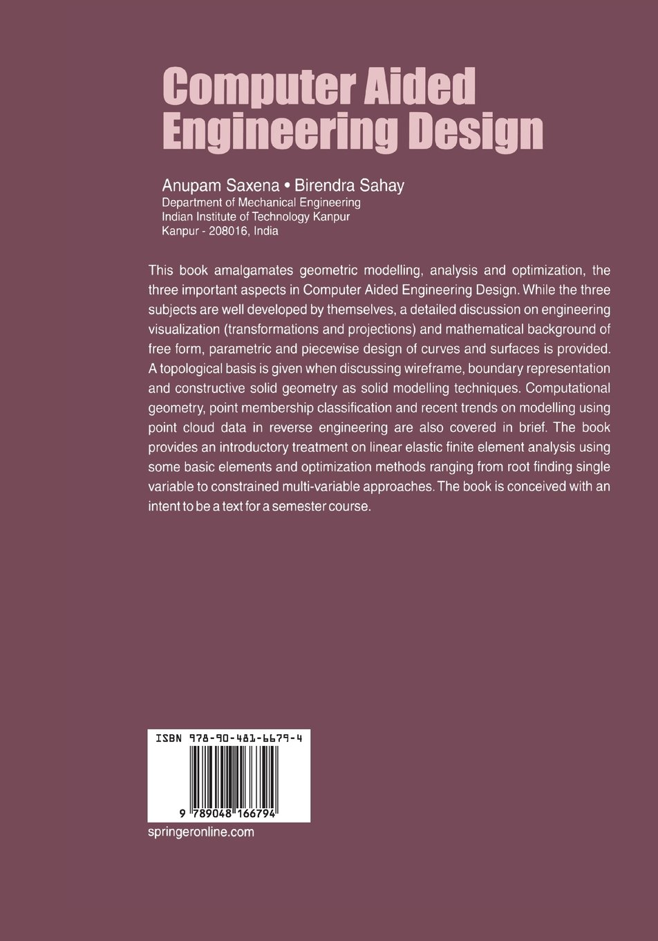 computer aided design mechanical engineering pdf