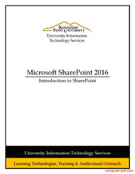 sharepoint online tutorial for beginners pdf