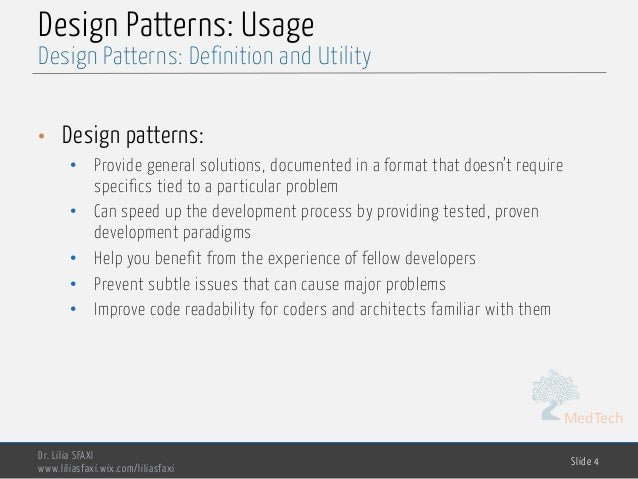 design pattern in software engineering pdf