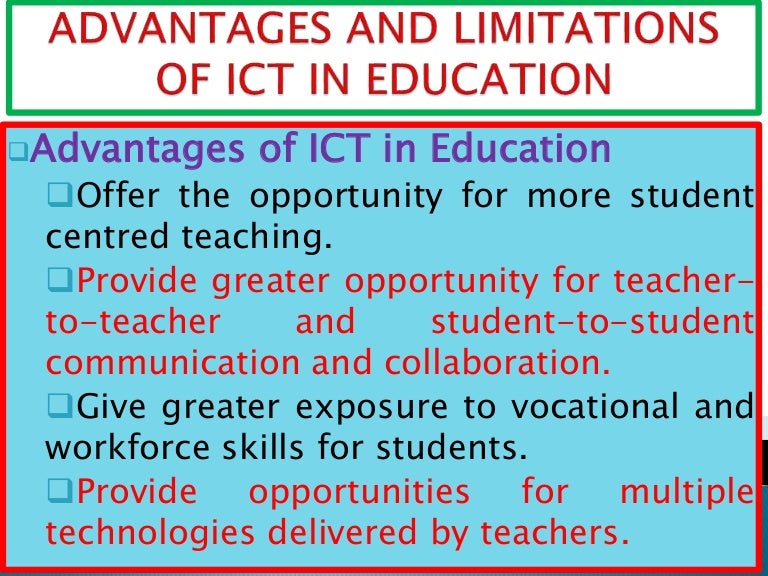use of information technology in education pdf