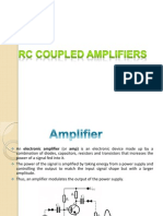 frequency response of rc coupled amplifier pdf