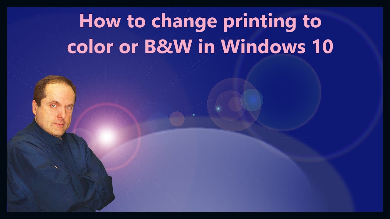 how to change color in pdf for printing