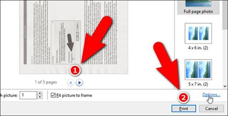 how to create pdf windows from inmages