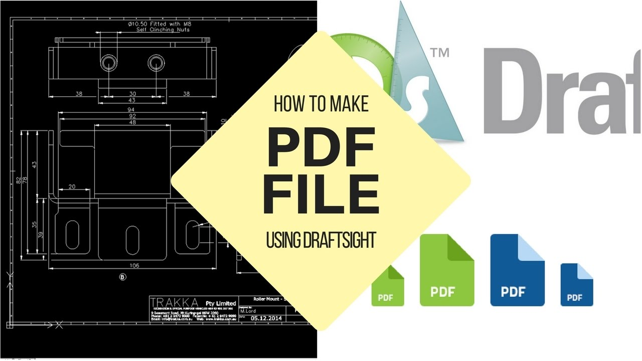 how to make a pdf file with youtube video