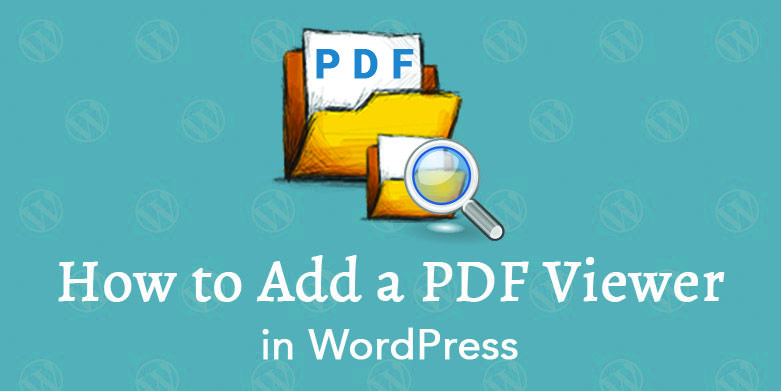 how to upload pdf to wordpress site