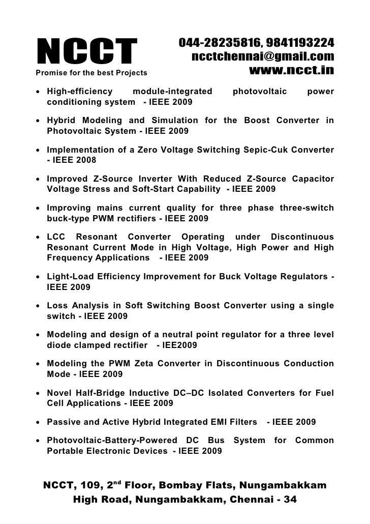 ieee papers on power electronics pdf