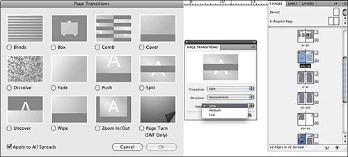 interactive pdf indesign page turn