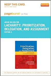lacharity prioritization delegation and assignment pdf free download