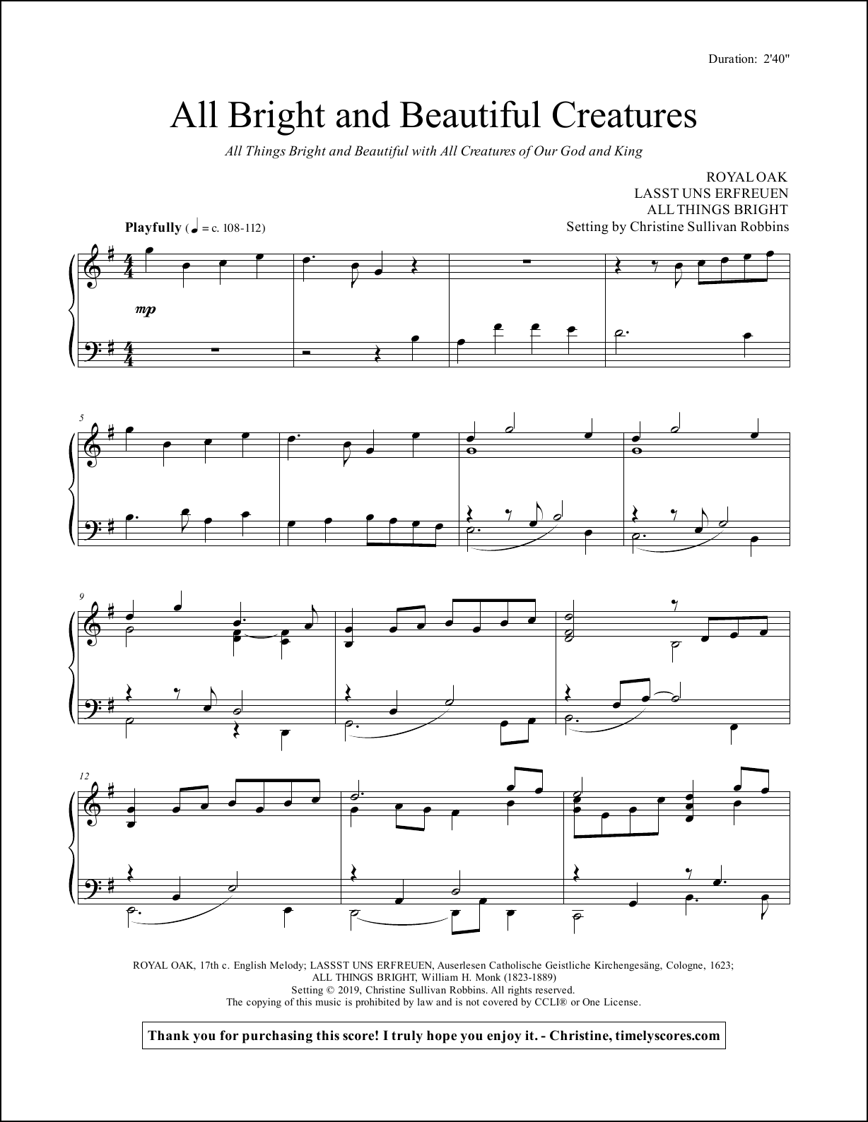 our god is an awesome god piano sheet music pdf