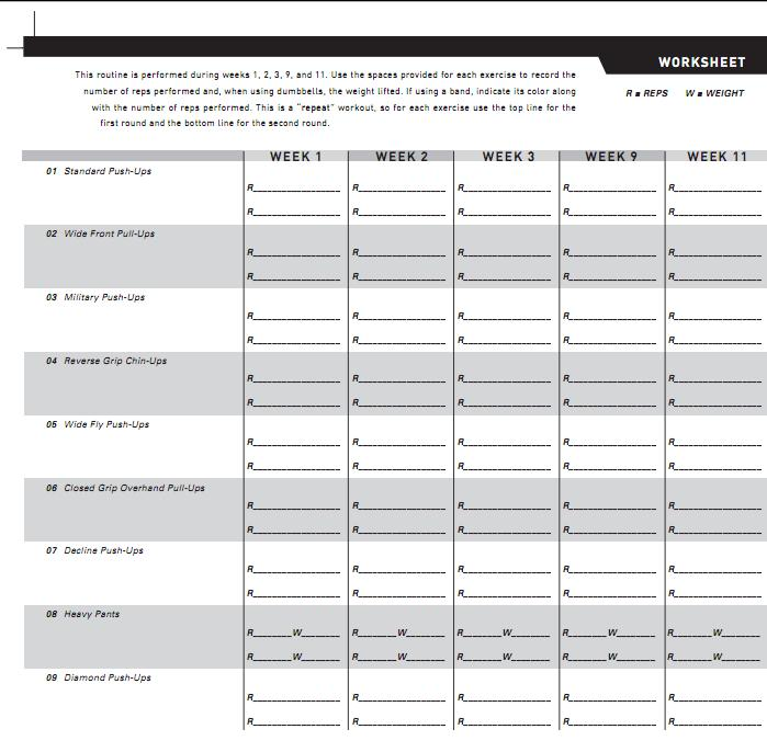 p90x ab ripper workout sheet pdf