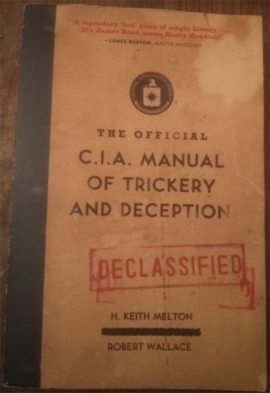 pdf the official cia manual of trickery and deception
