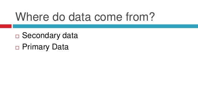 primary data collection methods pdf