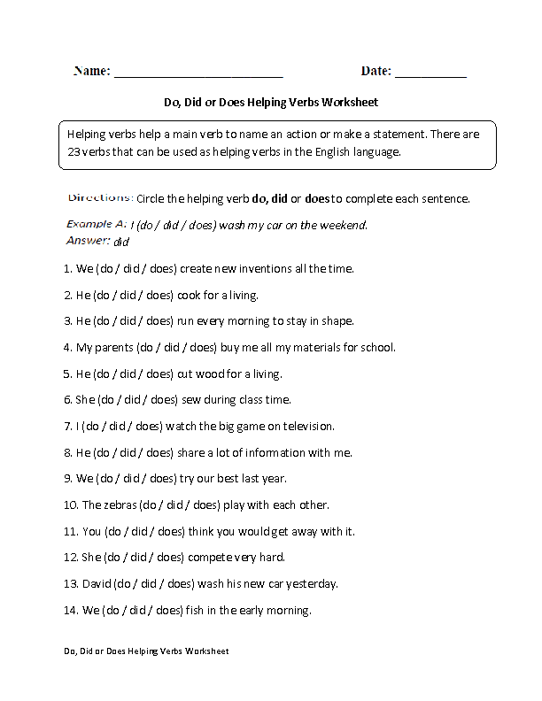 transitive and intransitive verb exercises pdf