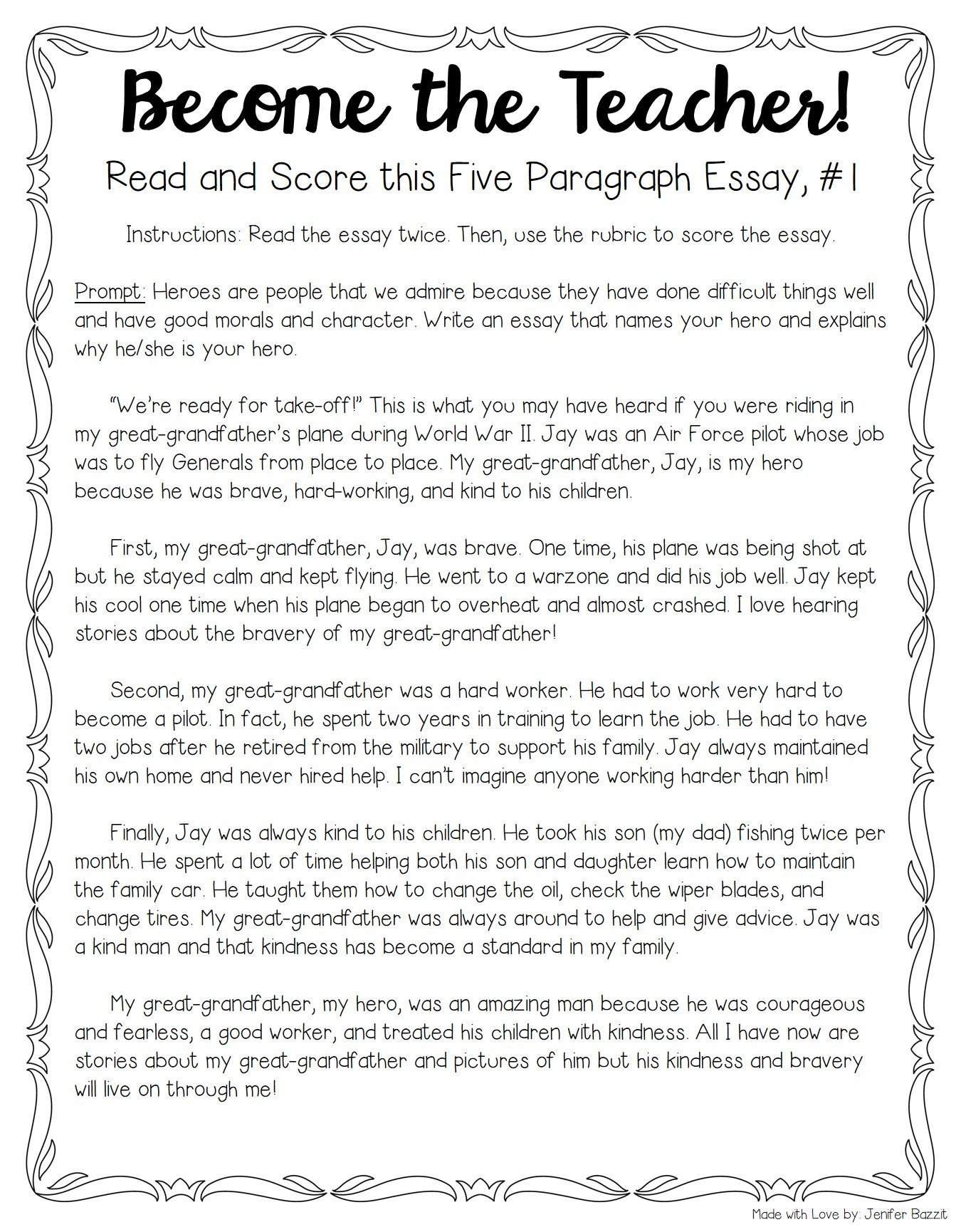 types of paragraph writing with examples pdf