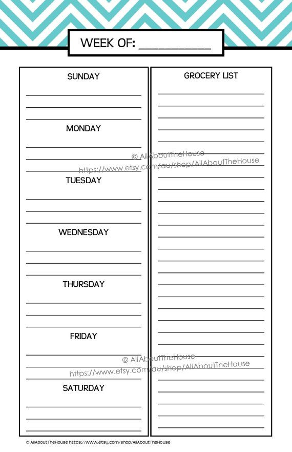 weekly to do list pdf