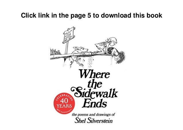 where the sidewalk ends pdf free download